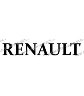 Stickers camion Renault lettrage