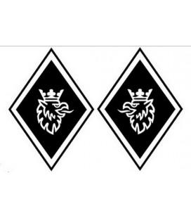 Stickers Losange Griffon classique