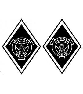 Stickers Losange Scania griffon vabis