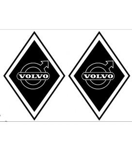 Stickers Losange Volvo Classic