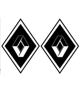 Stickers Losange Renault