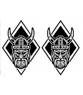Stickers Losange Viking