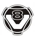 V8 Rond