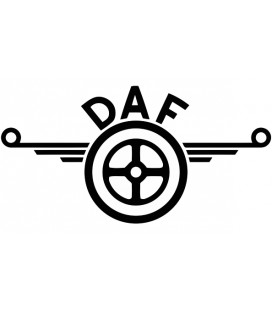 Stickers Daf volant