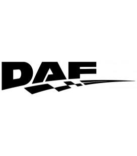 Stickers Damier Daf