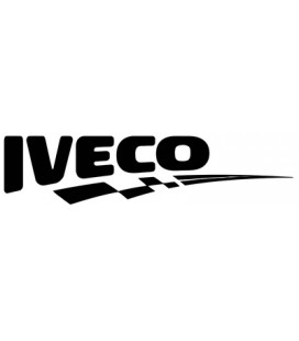 Stickers Damier Iveco