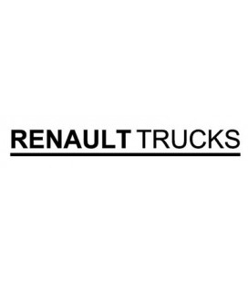 Stickers camion Renault Trucks lettrage