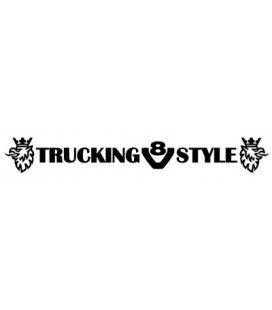 Stickers Scania trucking v8 style