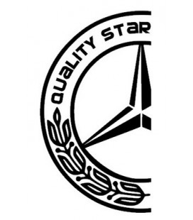 Stickers camion Mercedes Quality Star