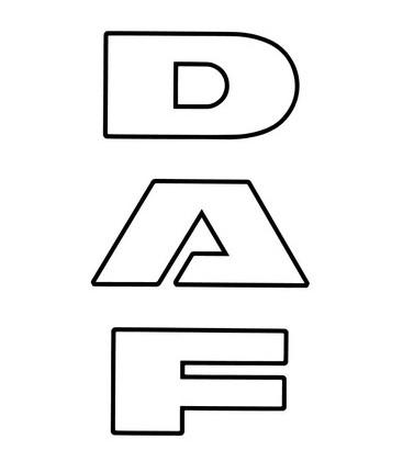 Lettrage DAF