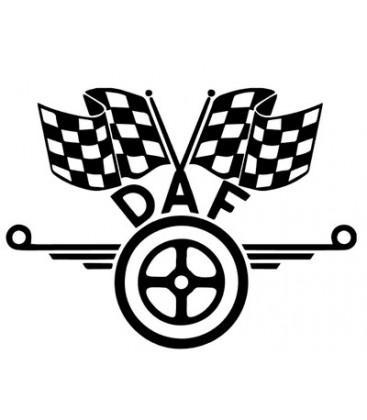 Logo DAF Damiers