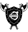 Stickers Volvo Bouclier