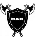 Stickers MAN Bouclier