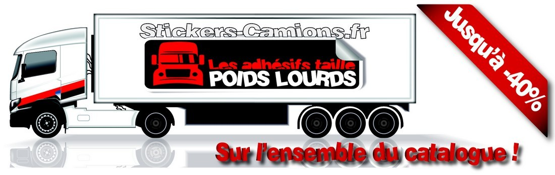 Stickers camions